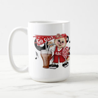 CAT CHEERLEADER CUTE FUN  Classic Mug