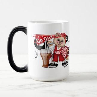 CAT CHEERLEADER CUTE FUN Morphing Mug