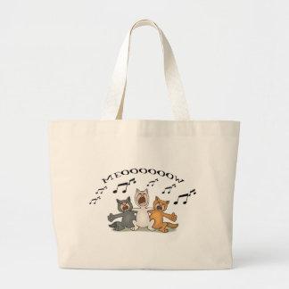 Cat Choir Jumbo Tote Bag