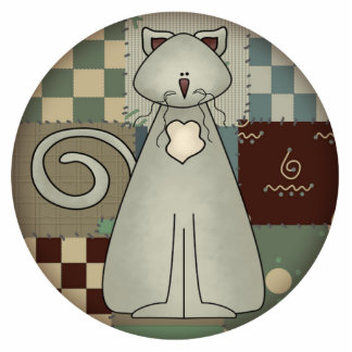 Cat Christmas Ornament Photo Cut Out