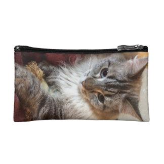 Cat cosmetics bag