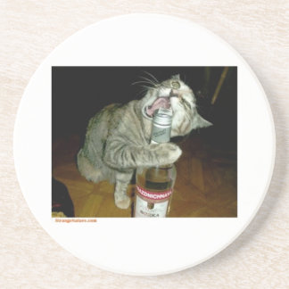cat coster drink coaster