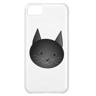 Cat Cute black kitty iPhone 5C Cases