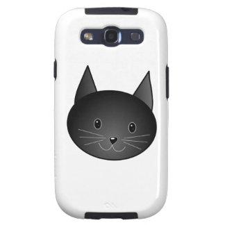Cat. Cute black kitty. Galaxy SIII Covers