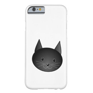 Cat. Cute black kitty. Barely There iPhone 6 Case