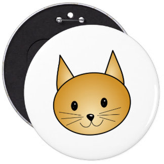 Cat Cute ginger kitty Pin