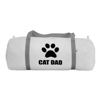 Cat Dad Paw Gym Bag