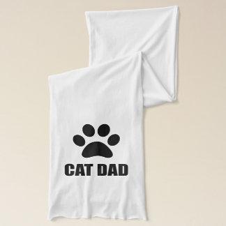 Cat Dad Paw Scarf