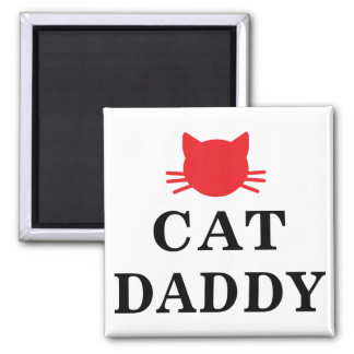 Cat Daddy Magnet