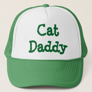 Cat Daddy Trucker Hat Green