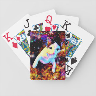 Cat Dance Kitty Colorful Cute Poker Playing Cards