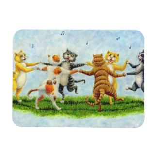 CAT DANCE SINGING FELINE MAGNET *Personalize