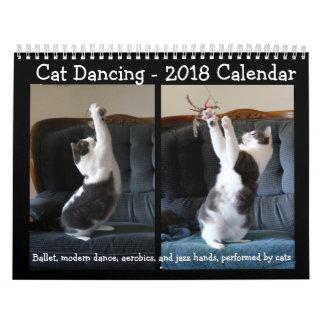 Cat Dancing - 2018 Calendar