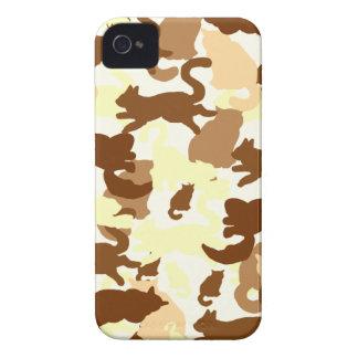 cat desert silhouette iPhone 4 Case-Mate case