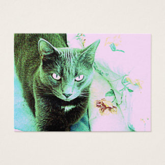 Cat Design 15 Business Card