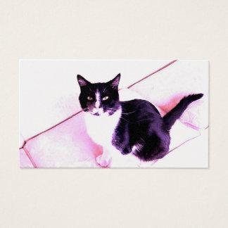 Cat Design 3 Business Card