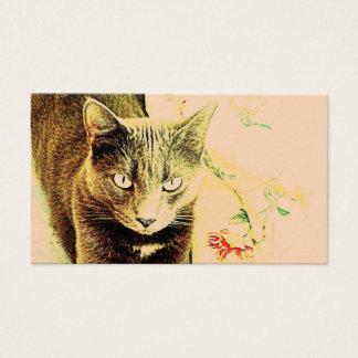 Cat Design 5 Business Card
