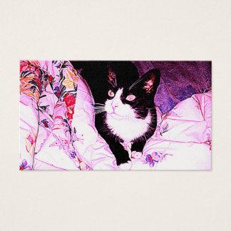 Cat Design 9 Business Card
