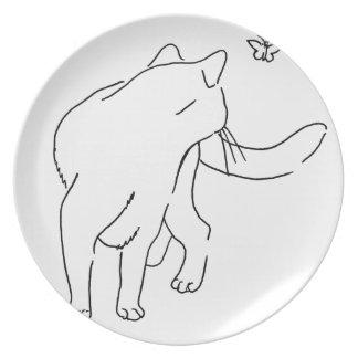 Cat Designs.jpg Dinner Plates