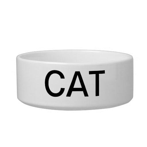 CAT DISH CAT FOOD BOWL