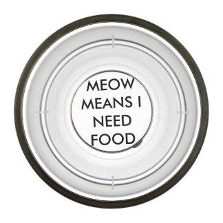 CAT DISH PET BOWL