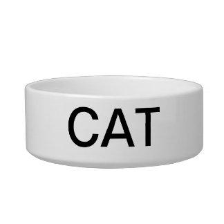 CAT DISH PET BOWLS