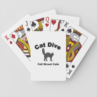 Cat Dive Playing Cards