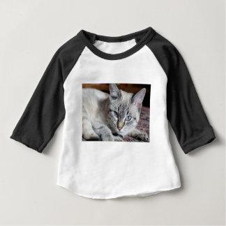 Cat Domestic Cat Kitten Mieze Mackerel Pet Baby T-Shirt