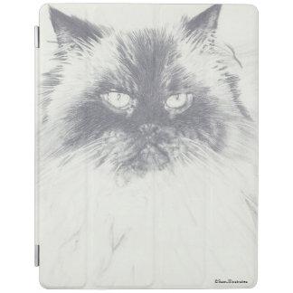 Cat Drawing iPad Case