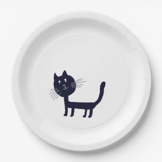 Cat Drawing Paper Plates