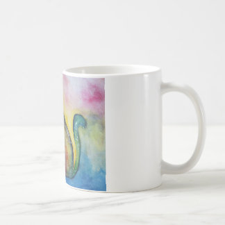 Cat Dreamer White Mug