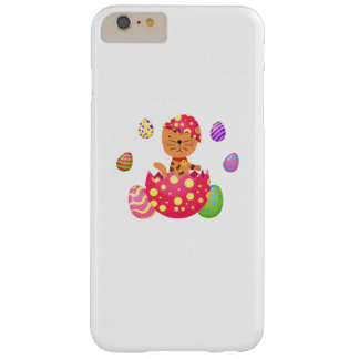 Cat Egg Easter Funny Gift Cat Lover Barely There iPhone 6 Plus Case