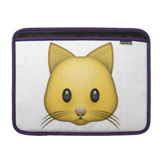 Cat - Emoji MacBook Sleeve