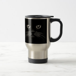 Cat Expressions Travel Mug