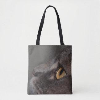 Cat Eye-Macro Tote Bag