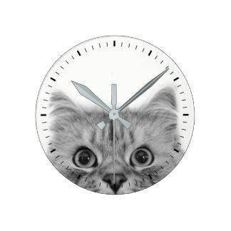 Cat Eyes Clock