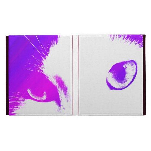 Cat Eyes (Colored) Caseable Case iPad Folio Cases