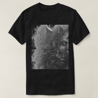 Cat Eyes original art by E J Hendrix T-Shirt