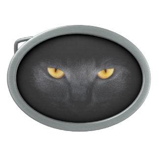 Cat Eyes Oval Belt Buckle