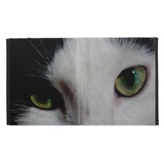 Cat Eyes (Photographic) iPad Folio Case