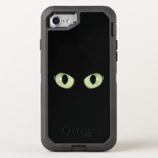 Cat eyes see everything OtterBox defender iPhone 8/7 case