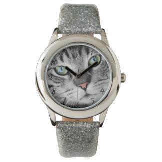 Cat eyes watch