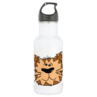 Cat Face 532 Ml Water Bottle