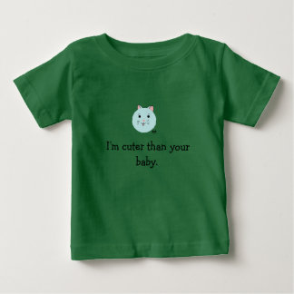 Cat Face: Attack of the Cuteness Baby T-Shirt