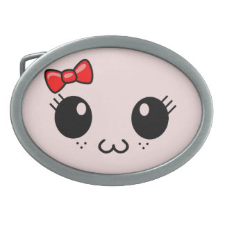 Cat Face Belt Buckles