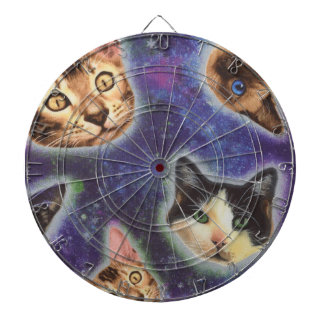 cat face - cat - funny cats - cat space dartboard