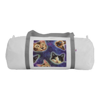 cat face - cat - funny cats - cat space gym bag