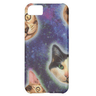 cat face - cat - funny cats - cat space iPhone 5C case