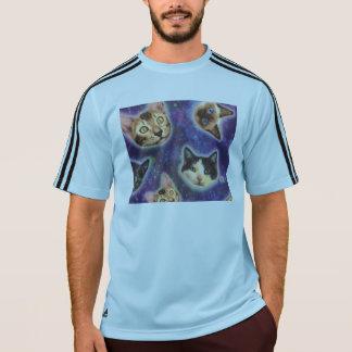 cat face - cat - funny cats - cat space T-Shirt