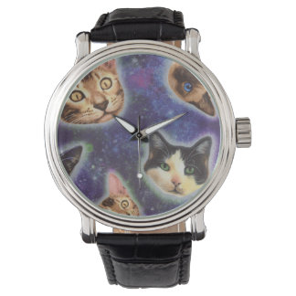 cat face - cat - funny cats - cat space watch